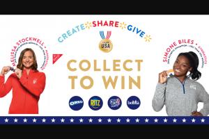 Mondelez Global – Walmart Collect To Win 2021 Sweepstakes