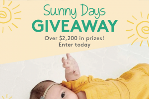 Newton Baby – Sunny Days Giveaway – Win Bundle ($50 value) Pure Enrichment Wipes Warmer Nail Trimmer Sound Sleeper and Humidifier ($150 value) and Citi Collective Shop Credit ($150 value).