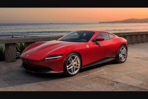 """Omaze – 2021 Ferrari Roma – Win a 2021 Ferrari Roma (the """"Grand Prize"""")."""