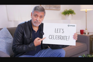 Omaze – Join George & Amal Clooney In Lake Como Sweepstakes
