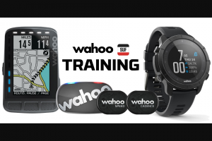 Peloton – Ultimate Wahoo Training Essentials Giveaway Sweepstakes