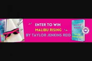 Penguin Random House – Malibu Rising – Win 1 Malibu Rising by Taylor Jenkins Reid (Prize Approximate Retail Value $28)