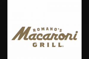 Romano's Macaroni Grill – Reunion – Win value will be awarded in the form of a Macaroni Grill gift card with a value of $1040 which is equal to $20 a week for 52 weeks