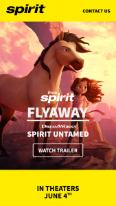 Spirit Airlines – Free Spirit Untamed Flyaway Giveaway – Win a four day