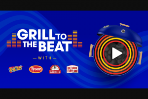Tyson Foods – Grill To The Beat – Win a summer grilling package that includes a JBL portable Bluetooth speaker
