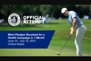 Uhc United Healthcare – Step Up For Summer – Win TaylorMade golf clubs including a signed golf bag from Rory McIlroy and Rory Junior Golf Set (ARV $1598).