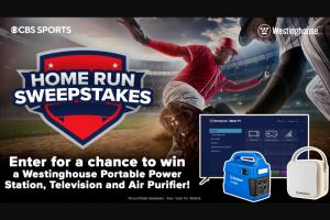 Viacomcbs – Home Run – Win of one (1) Westinghouse 55?