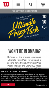 Wilson – Ultimate Prize Sweepstakes