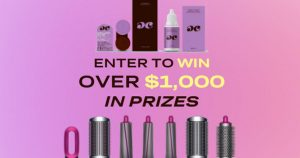 Dimple Color – Win a Dyson Air-wrap complete set PLUS a year's supply of Dimple Color