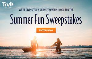 Travel Channel – Summer Fun – Win a $10,000 cash prize