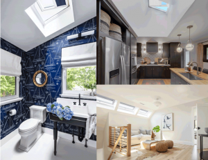 Velux America – Win 2 Velux No Leak Solar Powered Fresh Air Skylights PLUS solar-powered shades and free installation