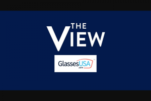 ABC – The View And Glassesusacom Giveaway – Win a $100 GlassesUSAcom e-gift card Actual retail value of each Prize is $100.00.