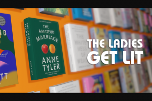 """ABC – The View's Ladies Get Lit Book – Win twelve (12) books featured from The View's 'Ladies Get Lit' segments aired the week of July 26 2021 within six (6) weeks of receiving completed paperwork from winner (the """"Prize"""")."""