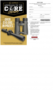 Bass Pro Shops And Cabela's – Leupold American To The Core Giveaway – Win Pack consisting of (1) Leupold Mark 5HD 5-25×56 Riflescope and (1) Mark 4 mounts