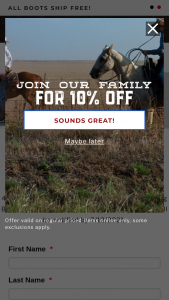 Cavender's – Durango 4th Of July Giveaway Sweepstakes