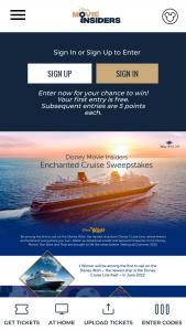 Disney Movie Insiders – Enchanted Cruise – Win Bahamian Disney Form 1099 reflecting