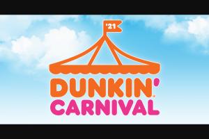 Dunkin Brands – Dunkin' Carnival – Win gift card