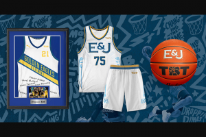 E & J Gallo Winery – E&j Brandy Tbt Summer '21 – Win of one signed team jersey from the 2021 season of The Basketball Tournament