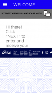 Ford Motor Company – Ford Essence Festival Vehicle Giveaway – Win the difference in prize value