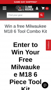 Gme Supply – Gear Expert Giveaway – Win a Milwaukee M18 6-Tool Combo Kit (2696-26).