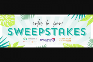 Hawaii Food & Wine Festival – Hfwf21 – Win a trip for two to Honolulu including two round trip First Class airfare on Hawaiian Airlines from a North America Hawaiian Airlines gateway city