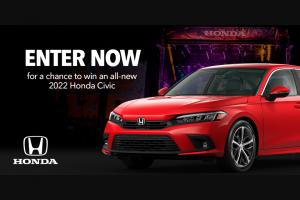 Honda – 2021 Honda Stage At Music Festivals – Win win one Honda Civic Sedan