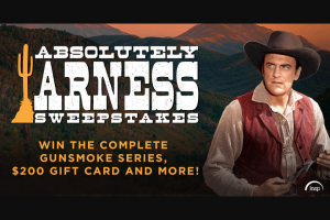 Insp – Absolutely Arness Sweepstakes