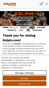 Kolpin – 2021 The Crush With Lee & Tiffany Sweepstakes