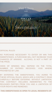 Moet Hennessy – Visit Jalisco With Volcan Tequila – Win a $700 food allowance