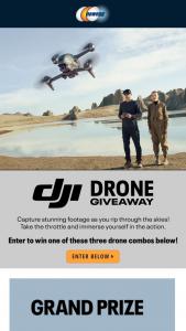 NEWEGG – Dji Drone Giveaway – Win One (1) DJI FPV Combo with Motion Controller