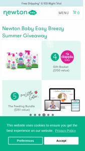 Newton Baby – Easy Breezy Summer Giveaway – Win Newton Baby
