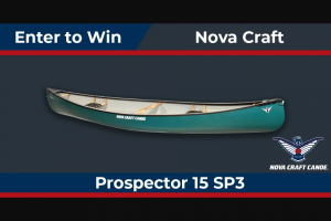 Paddling – Nova Craft Canoe Sweepstakes