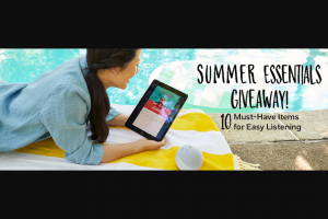 Penguin Random House – Summer Essentials Giveaway 2021 Sweepstakes