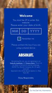 Pernod Ricard Absolut – Summer – Win Absolut Summer merchandise kit including the Absolut branded merchandise item