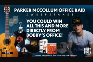 Premiere Networks – The Bobby Bones Show's Parker Mccollum Office Raid Sweepstakes