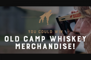 Proximo Spirits – Old Camp Whiskey Monthly Giveaway Sweepstakes