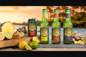 Reed's Ginger Ale – Win A Moke – Win one base model MOKE vehicle designated by Sponsor