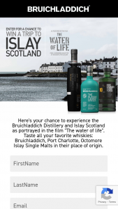 Rémy Cointreau USA – Win A Trip To Islay – Win Flights to Islay