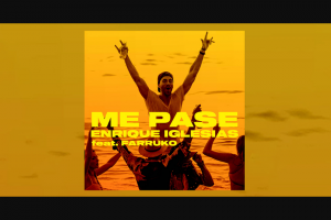 Tunespeak – Trip To Las Vegas To See Enrique Live – Win Flight and Hotel to Las Vegas