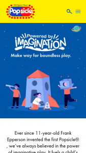 Unilever – Popsicle Powered By Imagination Contest Sweepstakes