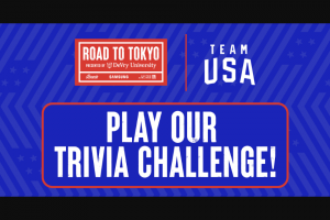 United States Olympic Committee – Team USA 'ultimate Fan' – Win One $500 VISA Gift card (4) boxes of REESE'S
