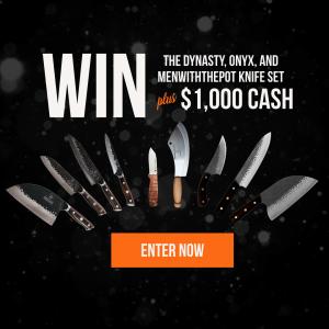 The Cooking Guild – Win a Knife set PLUS $1,000 cash
