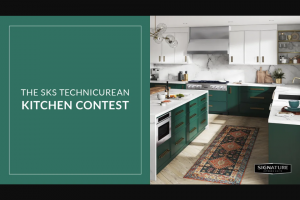 Architectural Digest – Sks Technicurean Kitchen Contest – Win two runner up winners