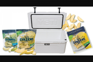 Arctic® Apples Is Holding A Summer Giveaway – Win Yeti cooler (Tundra 110 model) filled with Arctic apples