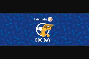 Autotradercom – National Dog Day Dog Vests – Win one (1) custom wall calendar