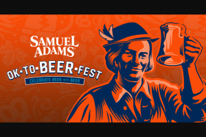 """Boston Beer Company – Samuel Adams Octoberfest Golden Tickets  – Win a trip for winner and up to three (3) guests (21 years or older) to attend Octoberfest 2022 in Munich Germany (""""Grand Prize"""") (ARV $14550 ea"""