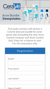 Cerave – Acne Bundle – Win a selection of CeraVe product