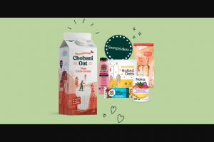 Chobani – Super Snackin' – Win one (1) case of 12 pack variety pack of Noka Superfood Smoothies