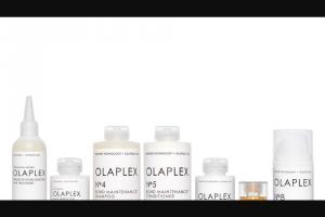 EXTRATV – Olaplex Complete Hair Repair System Sweepstakes
