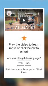 Fifth Generation – Tito's Tailgate 2021 Sweepstakes